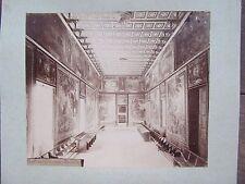 GDE PHOTO ANCIENNE 1890 ORDRE DE MALTE PALAIS DES GRANDS MAÎTRES CONSEIL SUPREME