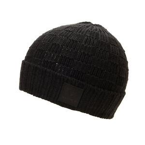 DIAMOND SUPPLY CO Skateboard Beanie Checker Black/Black (One Size Fits All)