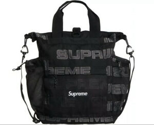 SUPREME - Utility Tote Bag - Black - FW121 - READY TO SHIP