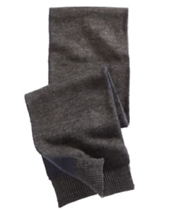 Alfani Men's Reversible Scarf in Navy/Charcoal, Retail $40.00