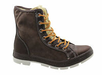 Converse CT Outsider Hi Mens Unisex Leather Boots Chocolate Brown 125664C P1