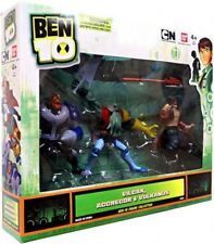 Ben 10 Vilgax, Aggregor & Vulkanus Exclusive Action Figure 3-Pack