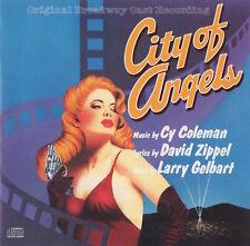 CITY OF ANGELS - ORIGINAL BROADWAY CAST - GREGG EDELMAN - SOUNDTRACK CD