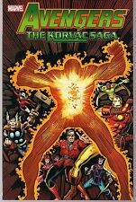 AVENGERS THE KORVAC SAGA MARVEL SOFTCVR GN TPB 70s GUARDIANS OF GALAXY THOR NEW