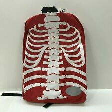 *New* Novelty Human Skeleton Backpack School or Day Travel Limited Edition