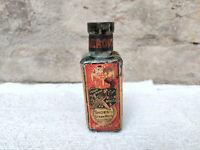 1940s Vintage Eagle Brand The Merops Self Polish Glass Bottle Polish Advertising