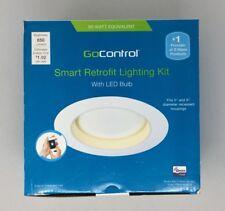 GOCONTROL SECURITY SMART RETROFIT LIGHTING KIT WITH LED BULB RECESSED ALARM
