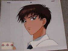 Cardcaptor Sakura Production Anime Cel - Touya with Coffee Cup