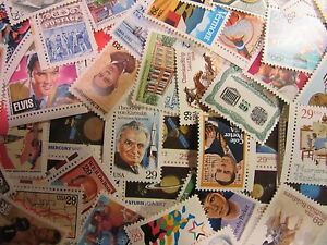 US postage Stamp Lot of 50 all different MNH 29 CENT COMMEMORATIVES