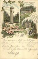 Gruss Aus Kickelhahn Germany 1898 Used Postcard