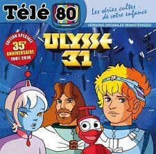 ULYSSE 31 - CD 31 titres 13 chansons VF ! Edition 35 ans SABAN - Club Dorothée
