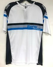 MTB Loose Fit Short Sleeve Cycling Jersey in White by Santini