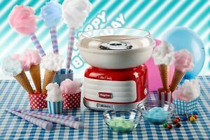 Ariete 2973 Cotton Candy Party Time 450 W Candy Floss Marker RED