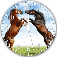 Beautiful Horse Frameless Borderless Wall Clock Nice For Gifts or Decor Z120