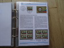 UNO Genf Sammlung 1975-1980 komplett im Viererblock ** und ESSt im Spezialalbum