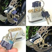Anti-theft Dual Key Motorbike Motorcycle Scooter Disc Brake Lock Anti-Pick Lock