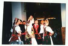 Vintage Photography PHOTO TRADITIONAL GERMAN DINNER & GIRLS DANCING IN GERMANY