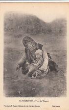 Carte postale ancienne MACEDOINE MACEDONIA type de tzigane roms bohémiens gitans