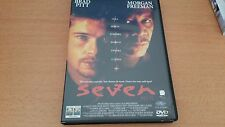 DVD SEVEN - BRAD PITT MORGAN FREEMAN