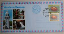 Mayfairstamps Western Samoa 1980 Oct 31 Uprated Stationery Used Aerogramme wwh35