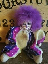 6'' long   clown doll Paranormal mystical metaphysical , Paranormal haunt