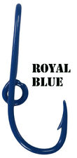 Royal Blue Eagle Claw Fish Hook Hat Pin Blue Fish Hook Tie Clip