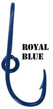 Custom Royal Blue Colored Eagle Claw Fish Hook Hat Pin Blue Fish Hook Hat Hook