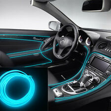 Beau 6.5Ft Ice Blue Cold Light Neon Lamp Strip EL Wire Car Interior Atmosphere  Decor (Fits: Infiniti G35)