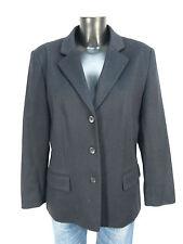 Ambiance blazer talla 42/negro & como nuevo - 100% Cashmere (K 2627)