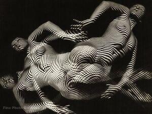 1940s Original Female Nude Abstract By WILLI EIDENBENZ Swiss Photo Gravure Art