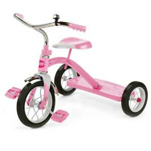 Radio Flyer Classic Pink 10 inch Tricycle - Pink