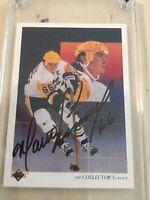 Mario Lemieux Signed 1990-1991 Upper Deck Card Pittsburgh Penguins
