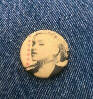 Madonna Button Badge Pin Pinback Vintage 1.25 Round 443 Promo Concert