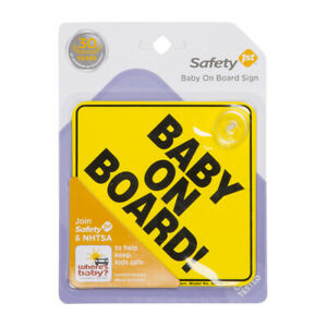 BABY ON BOARD SAFETY 1ST -032296