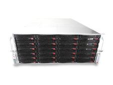 Supermicro 4U X9DRI-F Dual 6 Core Xeon 64GB Ram 24 x HDD Storage Server W/ Rails