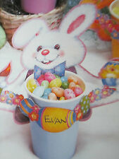 Easter Bunny Rabbit Duck Lamb 16 Cup Wraps Party Decoration Candy Holder basket