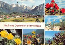 Bg12879 gruss aus oberstdorf allgau flower germany