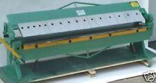 """HIGH QUALITY 48"""" SHEET METAL PAN & BOX BRAKE (16 GAUGE) (8600-4032)"""