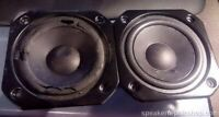 2 x foam surrounds for Pioneer T10EU70-51F Subwoofer S-L9-W / S-L8-W, incl glue