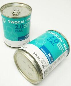 Abbott 00729 TwoCal HN Calorie & Protein Dense EXP 6/1/21 QTY 24-8 fl oz Cans