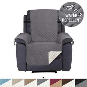 Recliner Chair Cover Pet Friendly Water Repellant Couch Cover, Seat Width Up to