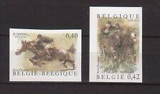 (*) BELGIE ONGETAND OBP nrs. 3084/85 ND, ongetand met rugnummer. Cw. € 25,- LEES