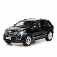 Cadillac XT5 SUV 1:32 Alloy Diecast Model Car Toy Sound&Light Suspension Gift