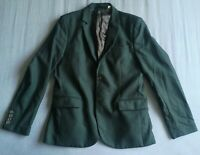 Jack Wills Men's Deep Green Wool Blazer Jacket Size 42 Good Used Condition