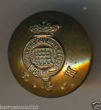Military Livery button Gaunt Queen Victoria R G H
