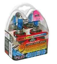 ABC135 Coppia 2 Lampade Led H8 H11 Con 68 Smd 3528 Colore Blu Blue 12V 2W Per Fe