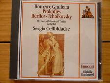 Prokofiev- Berlioz-Tchaikovsky: Romeo and Juliet: Sergiu Celibidache Neu
