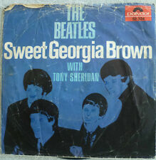"7"" Beatles & Tony Sheridan Sweet Georgia Brown/solo VG \"