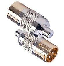 Cardas Audio CLEAR Adapter Plugs, Male XLR to Female RCA, CGA MXLR-FRCA (Pair)