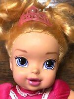 "Disney My First Princess Baby aurora ""Sleeping Beauty""  Doll 12"" jakks pacific M"